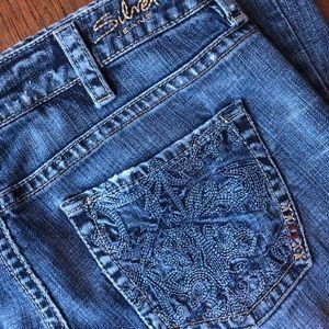 Women's Silver Lola Jeans, 30/33, EUC